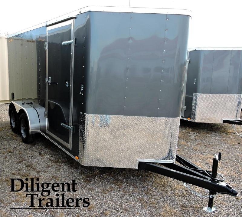 2020 DooLittle Trailer 7'x14' Tandem Axle 7K Enclosed Cargo Trailer