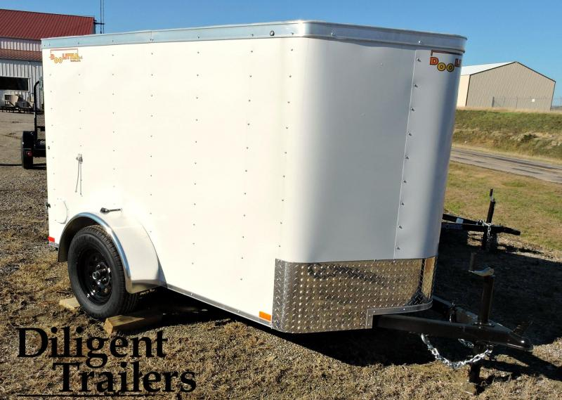 2019 Doolittle Trailer 5'x8' Enclosed Cargo Trailer
