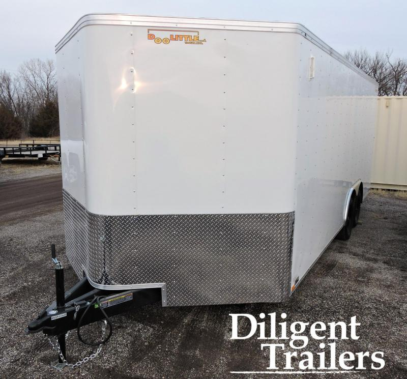 2020 Doolittle Trailer Mfg 8.5' x20' Tandem Axle 7K Enclosed Cargo Trailer