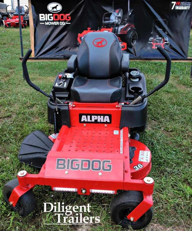 """2017 Big Dog Zero Turn Lawn Mower Alpha 36"""""""