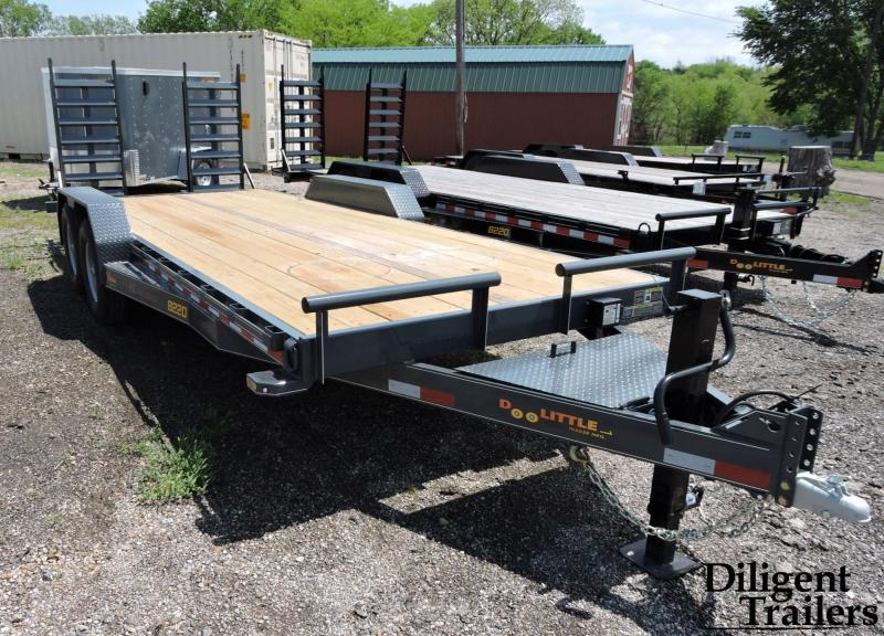 "2020 DOOLITTLE TRAILER 82""X20' XTREME 14K EQUIPMENT TRAILER"