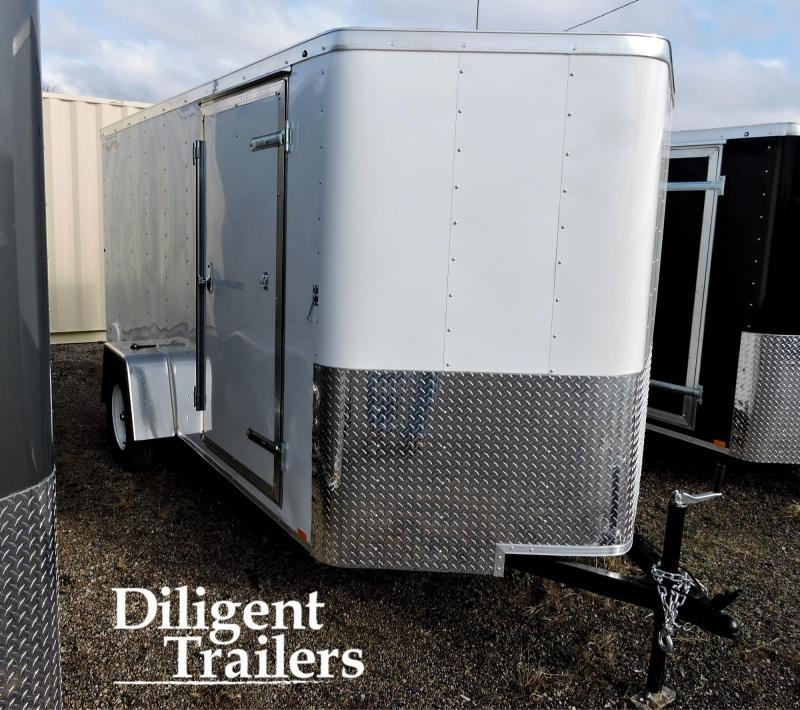 2020 Doolittle Trailer Mfg 6' x12' Single Axle 3.5K Enclosed Cargo Trailer