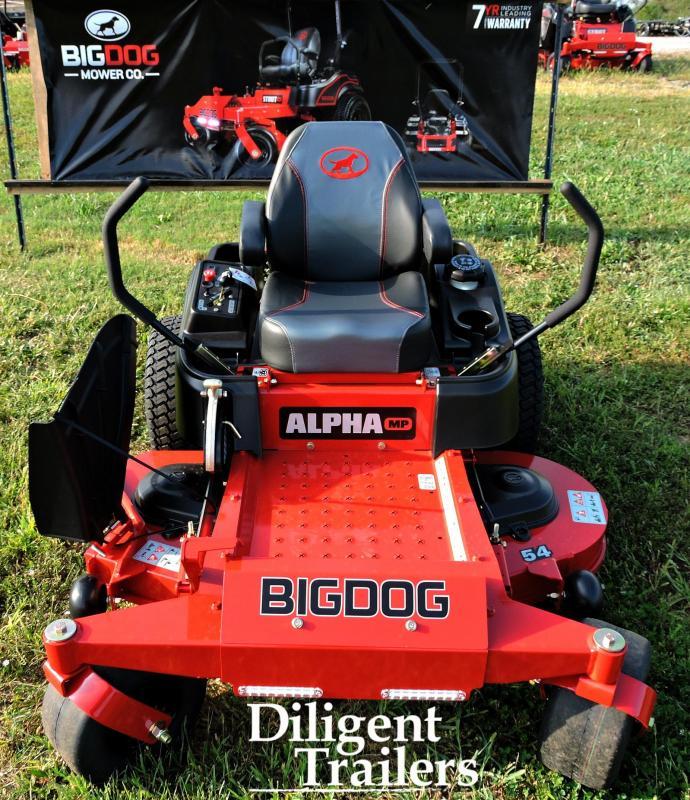 """2019 Big Dog Zero Turn Lawn Mower Alpha MP 54"""""""