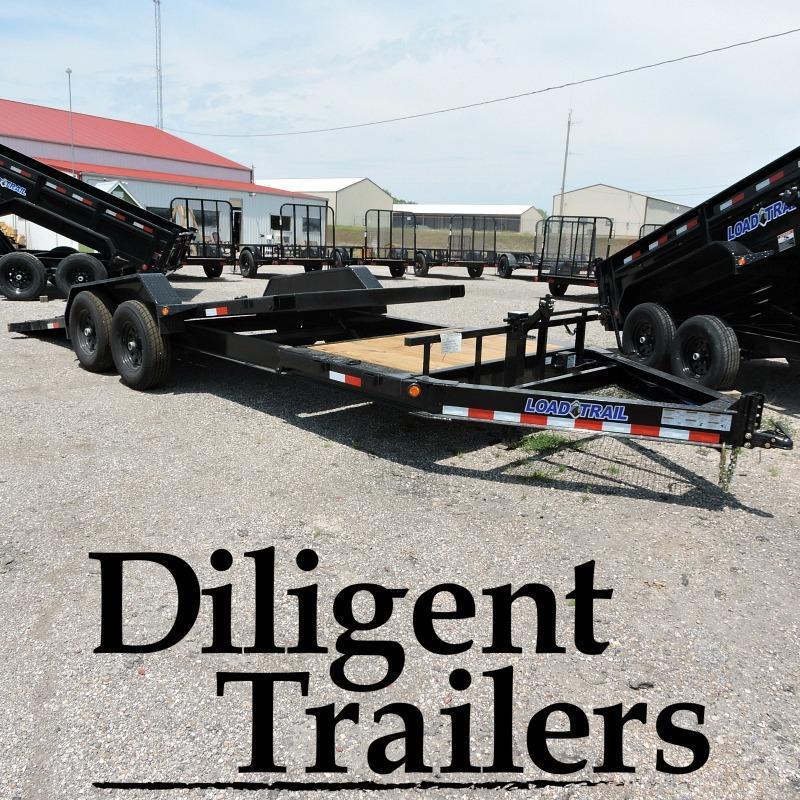 "2018 Load Trail 83"" x20'  Tilt Deck Trailer"