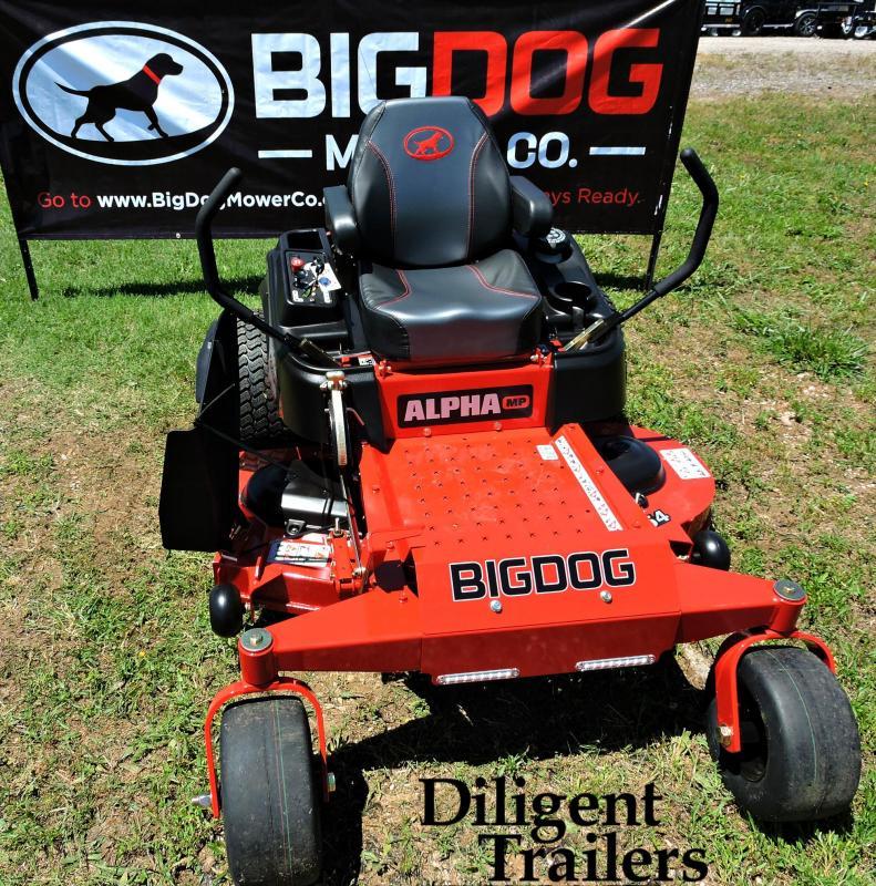 "2019 Big Dog Mower Co Alpha MP 54"""