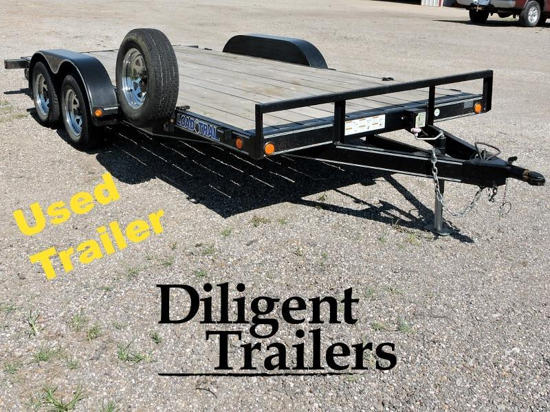 "Used 2014 Load Trail 83""x16' Car Hauler"