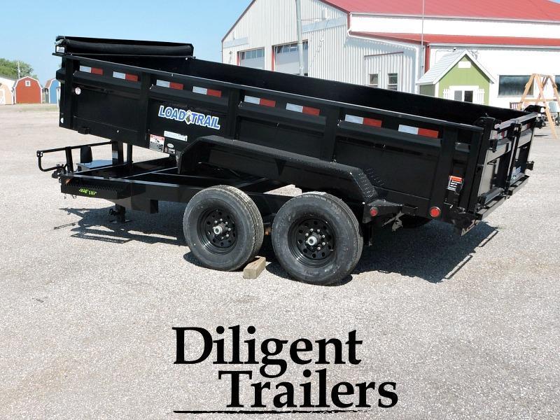 "2018 Load Trail DT14 83""x14' Dump Trailer"