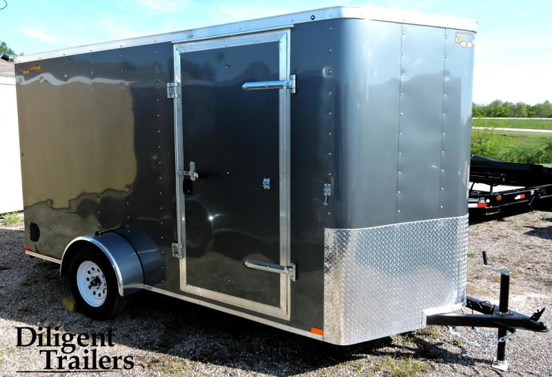 2019 Doolittle Trailer 6' x12' Single Axle 3K Enclosed Cargo Trailer