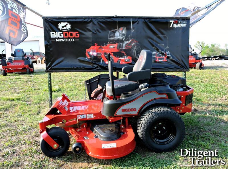 2020 Big Dog Mower Co Alpha MP 60 Zero Turn Lawn Mower
