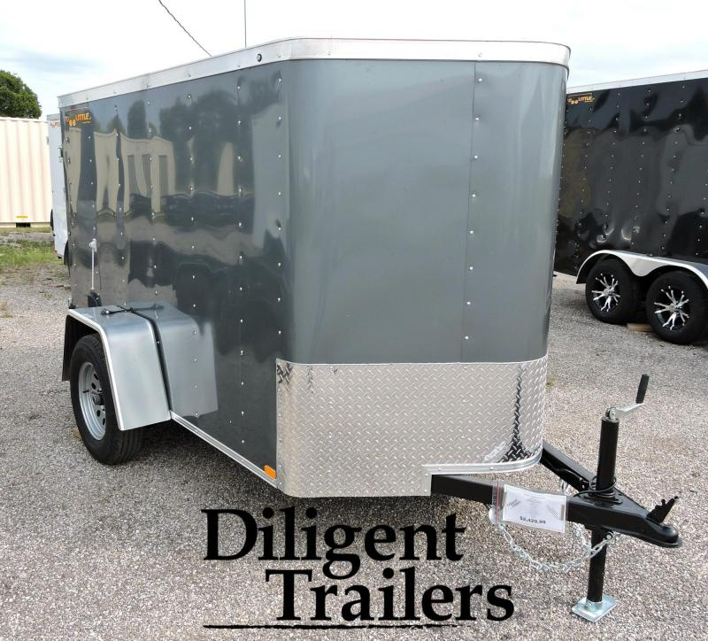 2020 Doolittle Trailer Mfg 5' x8' Single Axle 3.5K Enclosed Cargo Trailer