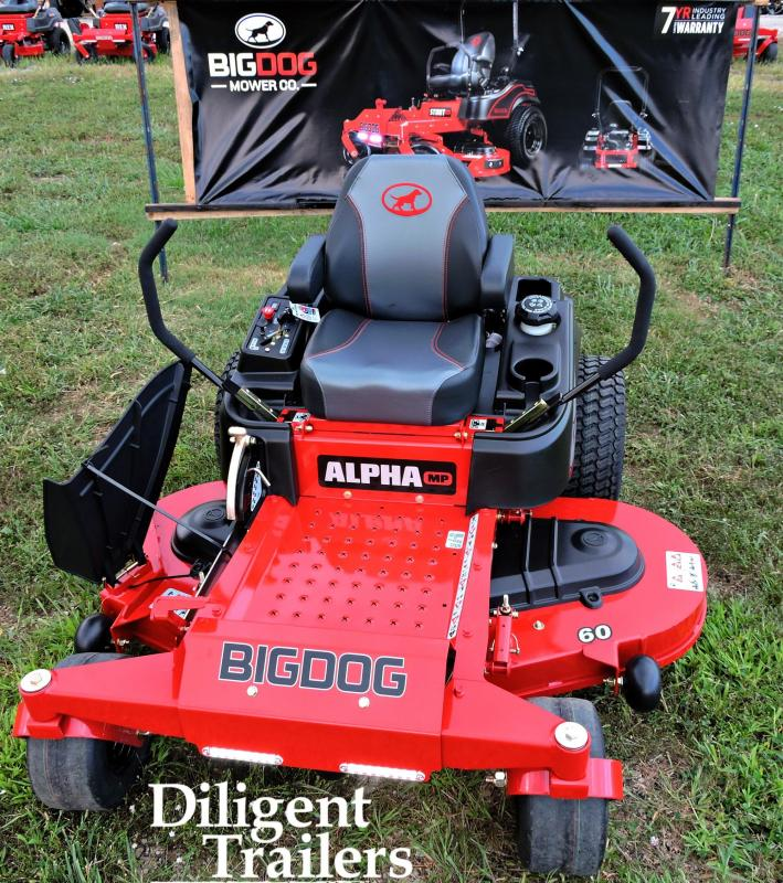 """2019 Big Dog Zero Turn Lawn Mower Alpha MP 60"""""""