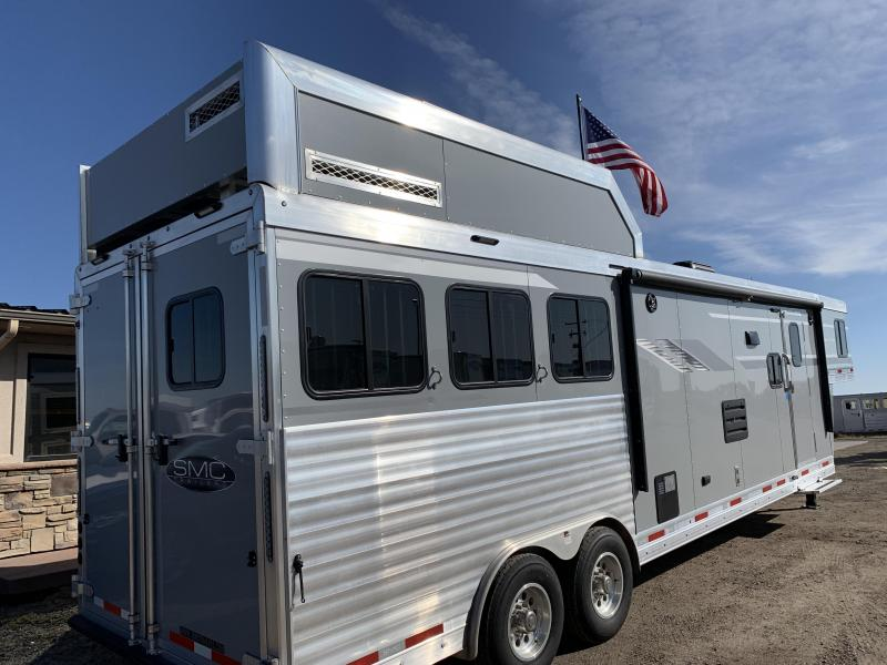 2020 SMC Horse Trailers 3 13SW Slide out Couch Dinette Combo Horse Trailer