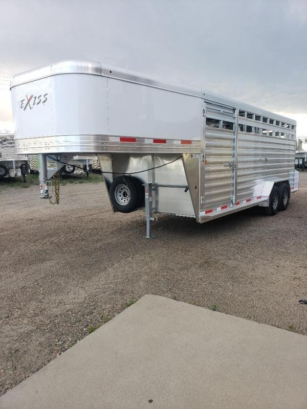 2020 Exiss Trailers Exiss STK7020 20ft Stock trailer Livestock Trailer