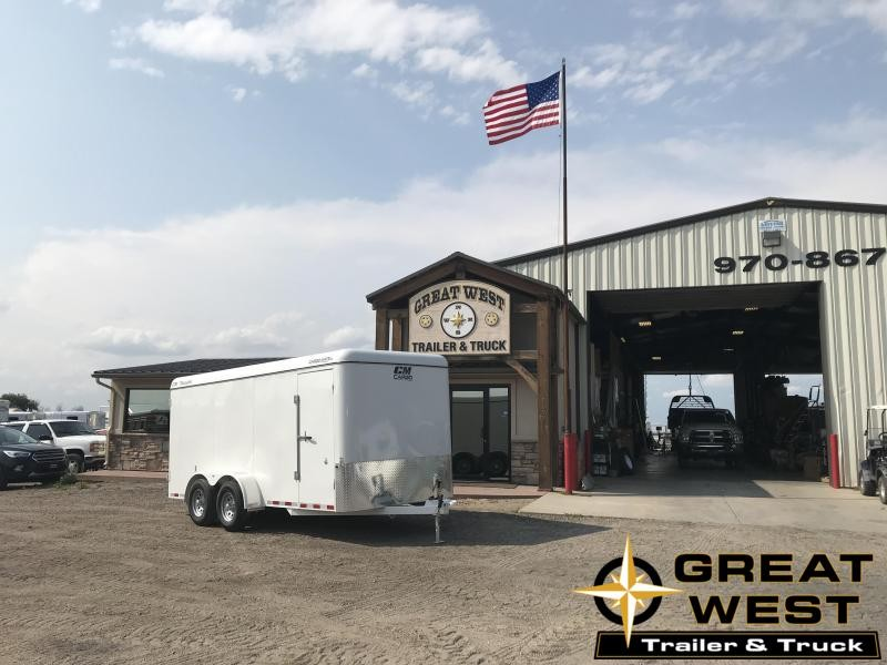 2019 CM 16 CARGO MATE Enclosed Cargo Trailer