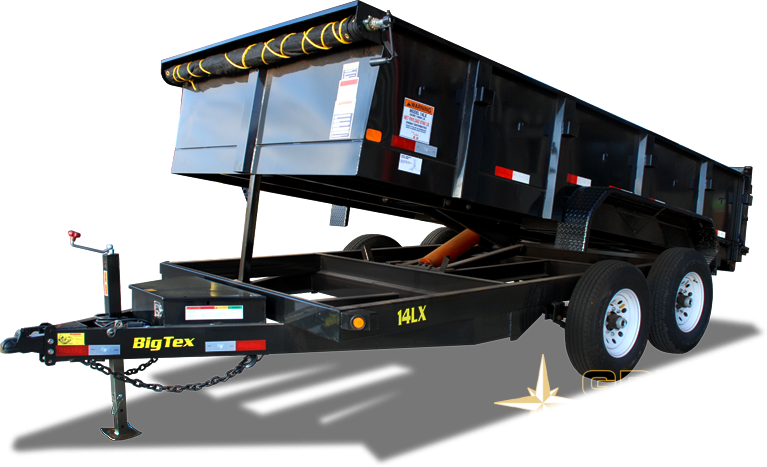 2019 Big Tex Trailers 14LX-14 Dump Trailer