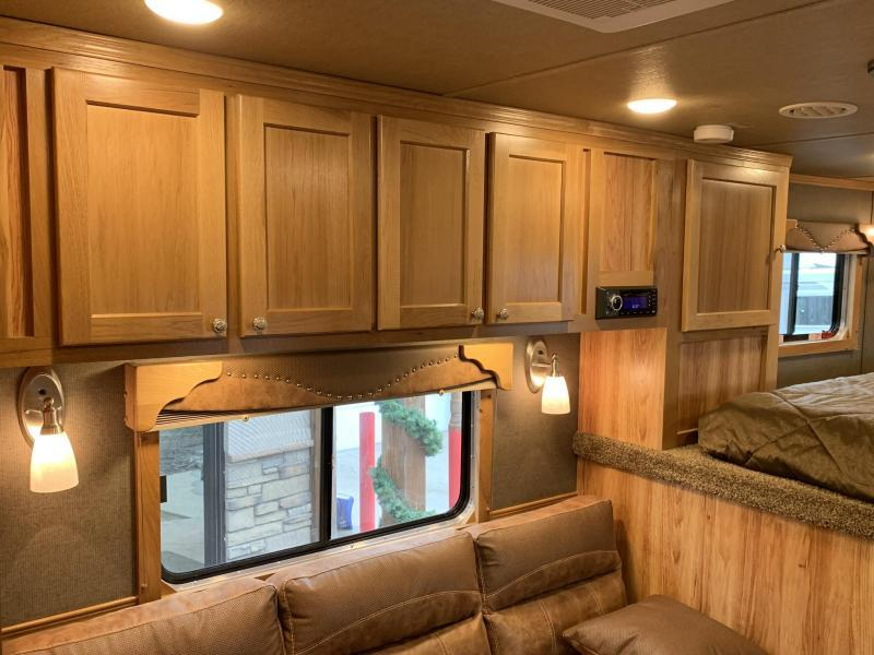2019 SMC 10' Short Wall 4 Horse Trailer