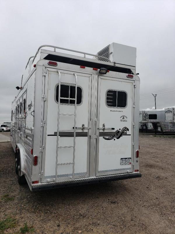 2008 Platinum Coach 12'SW 4H LQ Horse Trailer
