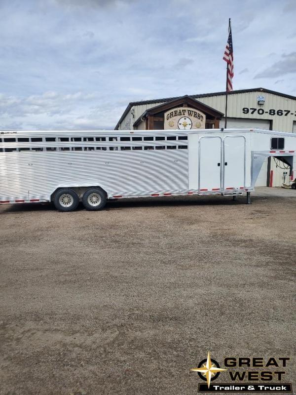 2015 Alum-Line Trailers 25' Stock Combo Livestock Trailer