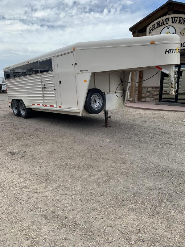 2010 Trails West Manufacturing Hot Shot Livestock Trailer