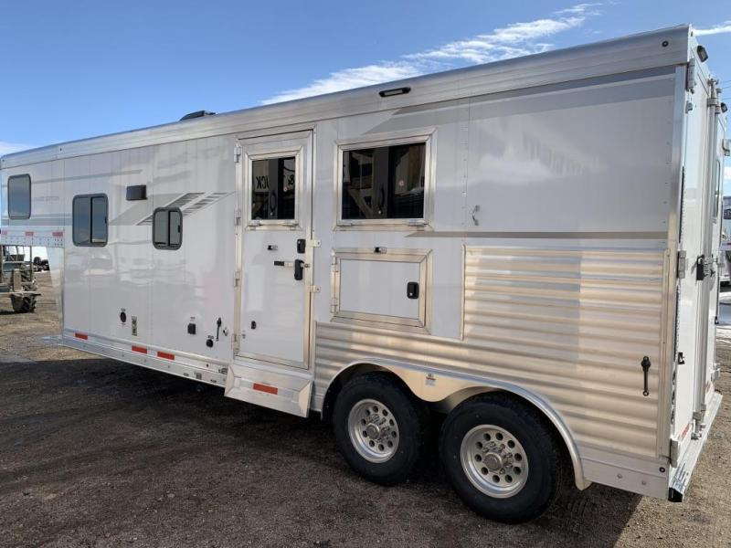 2020 SMC 2 Horse 9' LQ Trailer SL829DR Horse Trailer