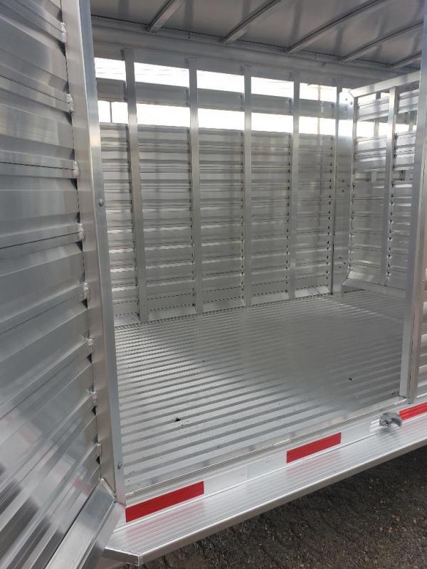 2020 Exiss Trailers Exiss STK7020 20ft Stock trailer Livestock Trailer