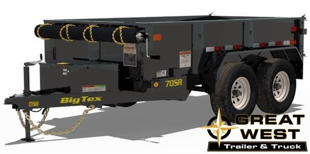 2019 Big Tex Trailers 70SR-10-5W Dump Trailer