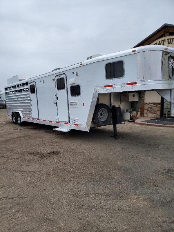 2013 Exiss Trailers STC8030 stock combo Horse Trailer