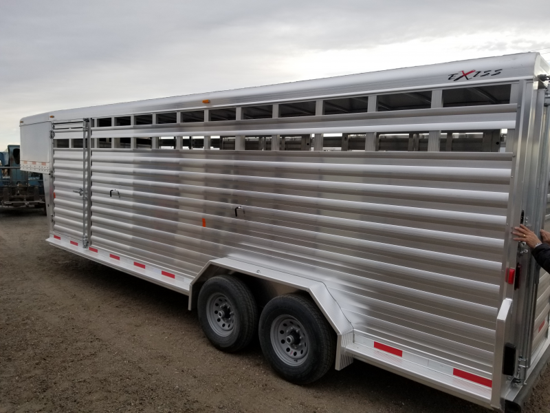 2019 Exiss Trailers 7024 Livestock Trailer