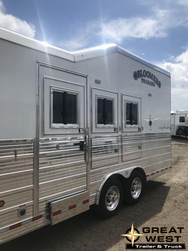 2018 Bloomer Trailer Manufacturing Horse Trailer