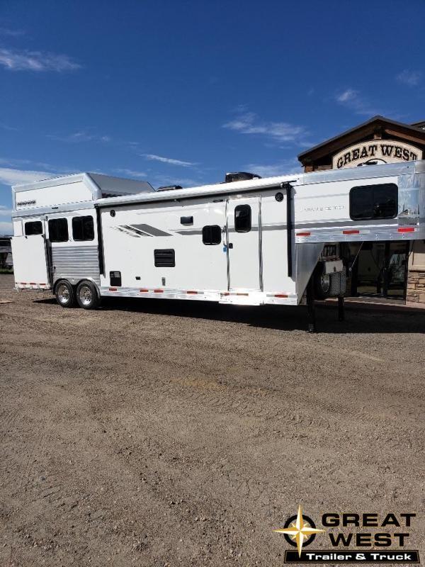 2020 SMC Horse Trailers SL8313SSR Horse Trailer
