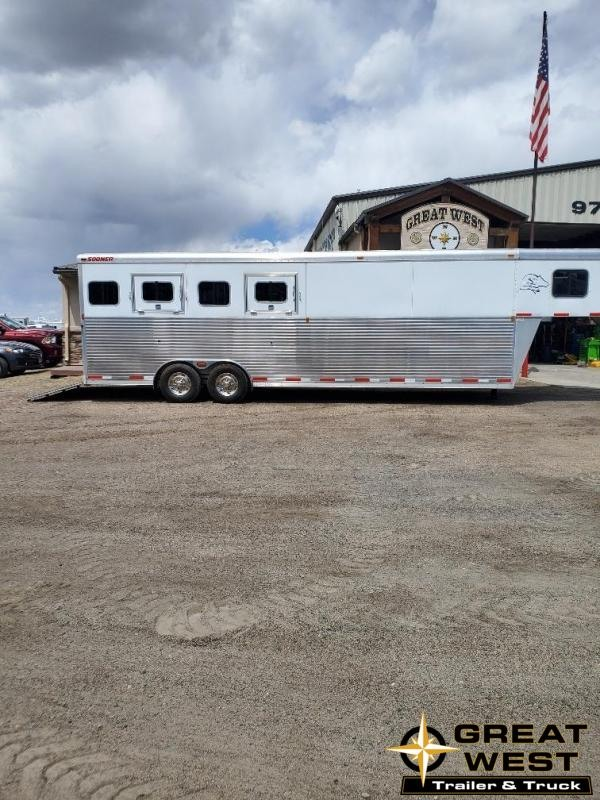 2009 Sooner Custom 4 Horse Trailer