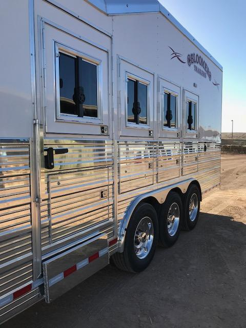 2019 Bloomer Trailer Manufacturing 17'9 Short Wall 4 horse PC load