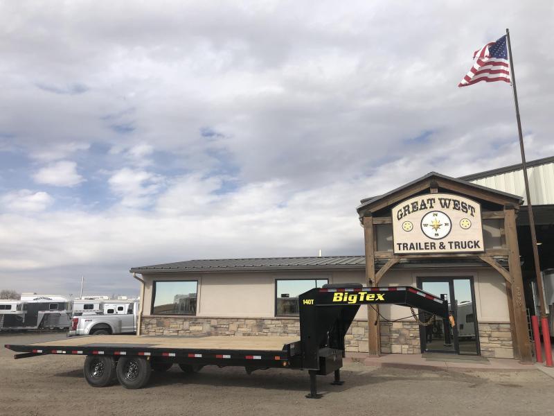 2019 Big Tex Trailers 14OT-24 14000lb Hydraulic Tilt Trailer Utility Trailer