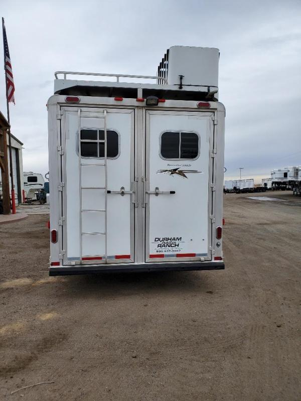 2015 Platinum Coach 12ft Short Wall 4 Horse Trailer