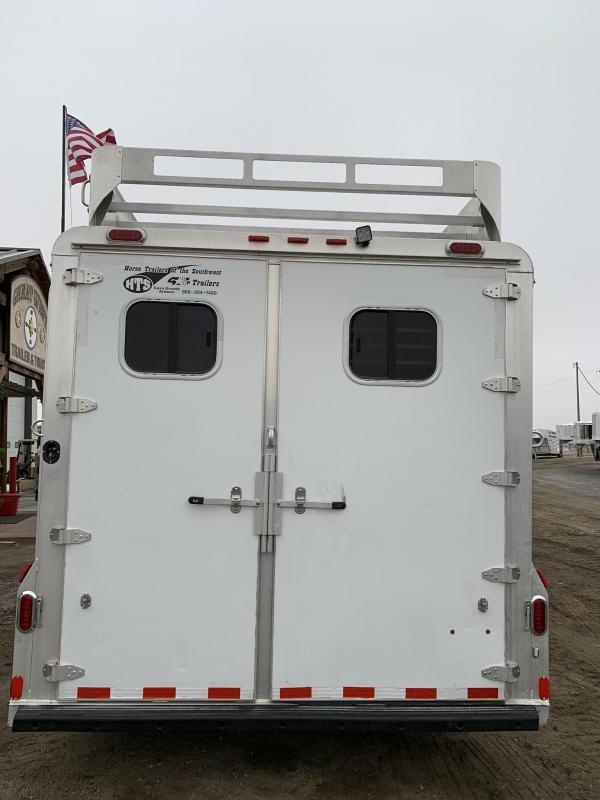 2007 4-Star Trailers 4 Horse 12 Living Quarters Horse Trailer