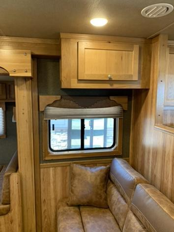 2020 SMC Stock Combo 13' Short Wall Horse Trailer