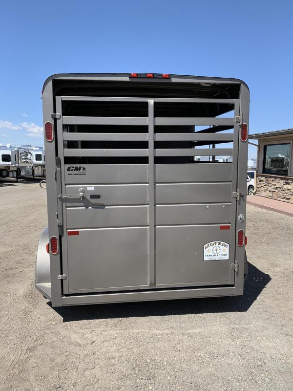 2017 CM Dakota 2 Horse Steel BP AZB