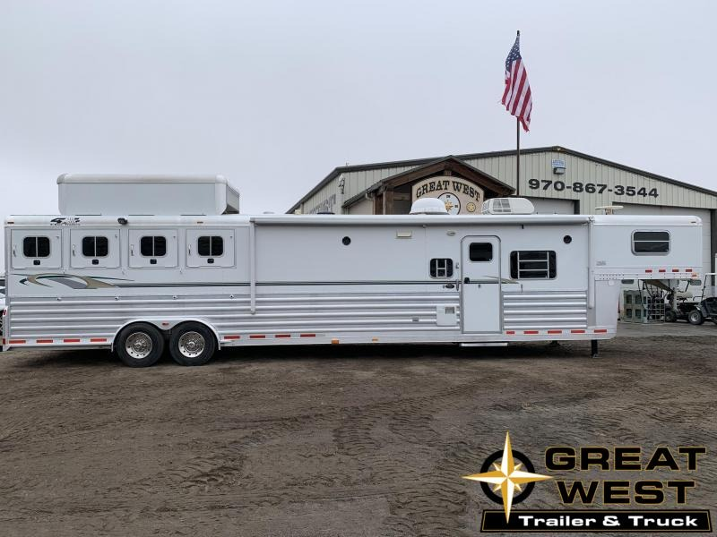2006 4-Star 18' Short Wall 4 Horse Trailer