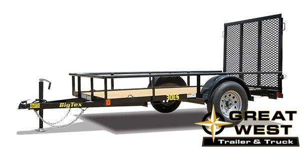 2019 Big Tex Trailers 30ES-10 Utility Trailer