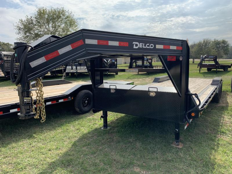 2020 Delco Trailers 102X26 CARHAULER SLIDE IN RAMPS