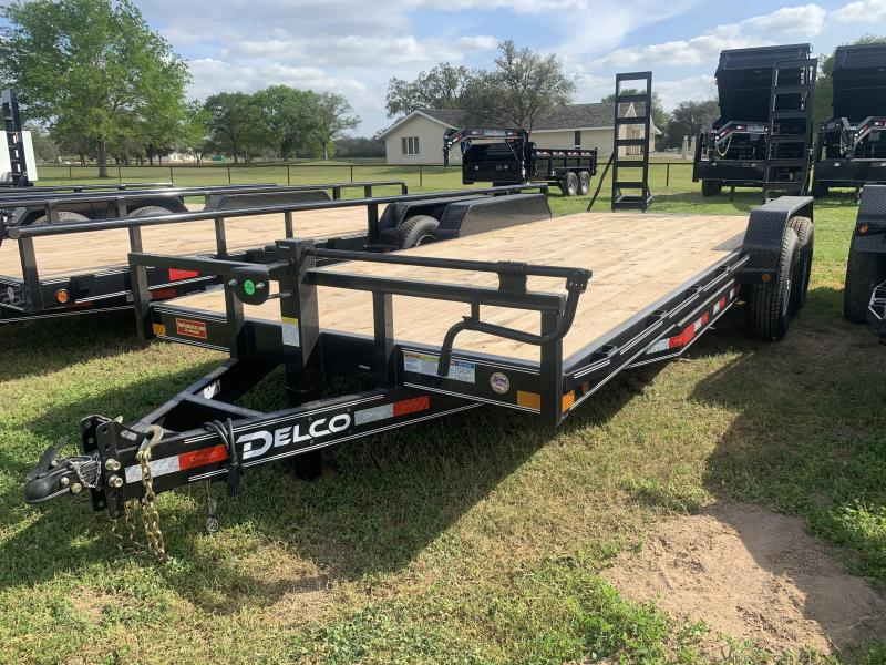 2020 Delco Trailers 83X20 LOWBOY STAND UP RAMPS 14K