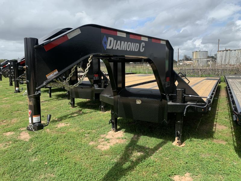 2020 Diamond C Trailers 40' AIR RIDE MAX RAMPS GOOSENECK