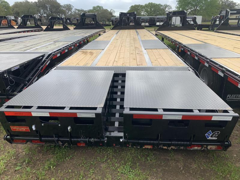 2020 Diamond C Trailers 40' AIR RIDE MAX RAMPS GOOSENECK