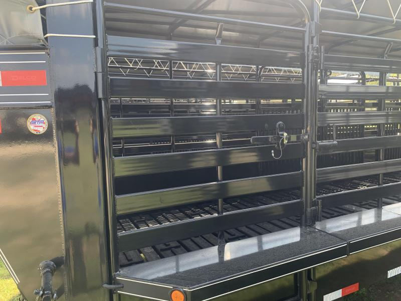 2020 Delco Trailers 6 8 X 24 G. BARTOP RUBBER FLOOR