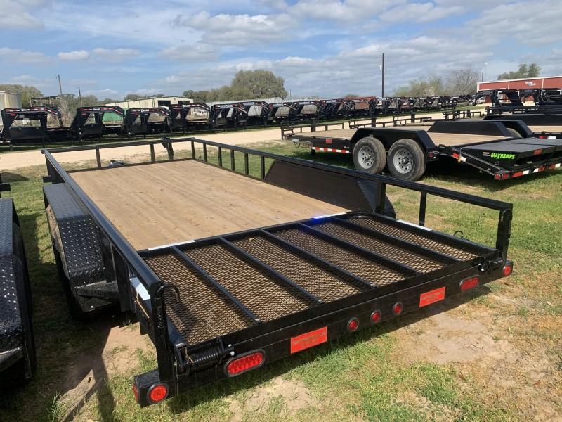 2020 Load Trail 83X18 UTILITY 4' GATE