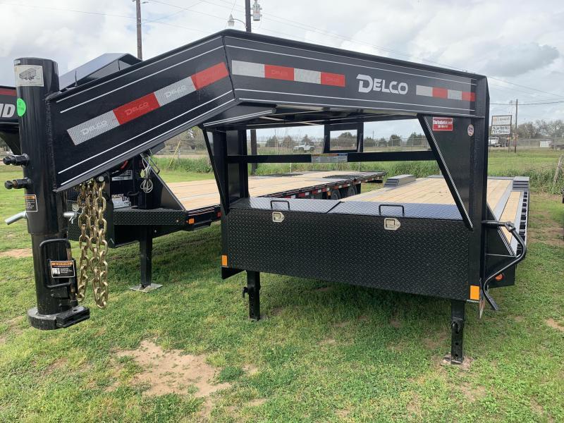 2020 Delco Trailers 102X32 14K CARHAULER MAX RAMPS
