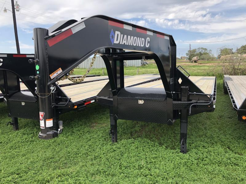 2019 Diamond C Trailers 40' AIR RIDE STRAIGHT DECK