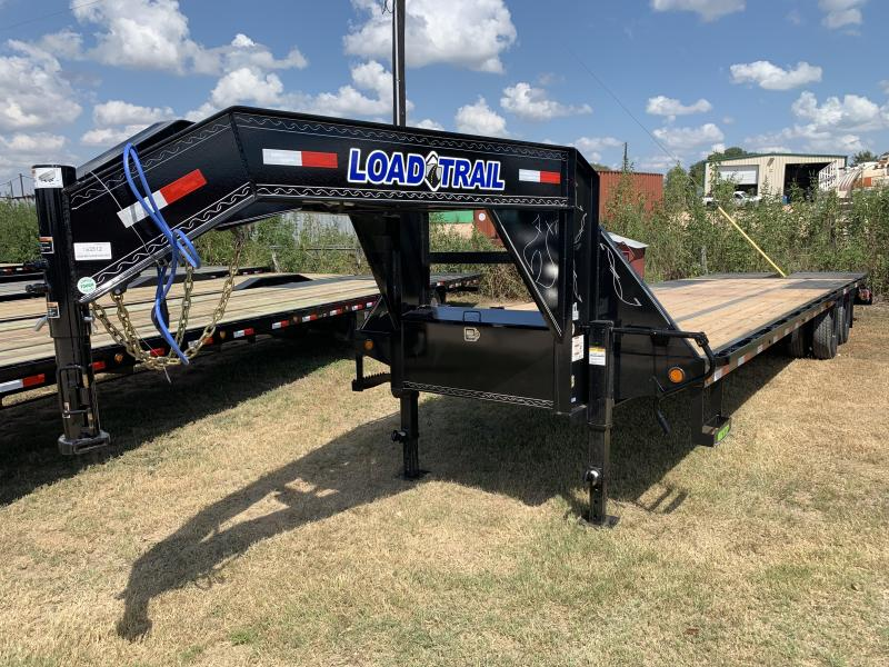2020 Load Trail 32' FLATBED MAX RAMPS