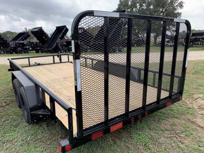 2020 Load Trail 83X16 UTILITY 4' GATE