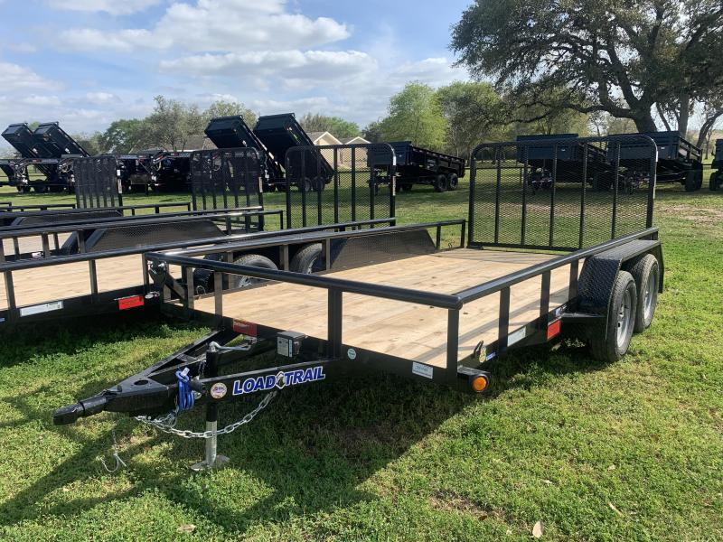 2020 Load Trail 83X14 UTILITY 4' GATE